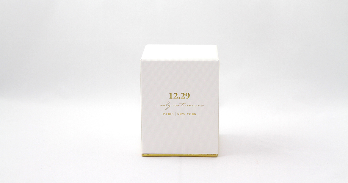 custom eco-friendly paper packaging for home scents by 12.29