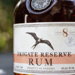 This is an example of the level of detail in the Frigate Reserve Rum's label and medallion engineered and manufactured by Big Sky Packaging.