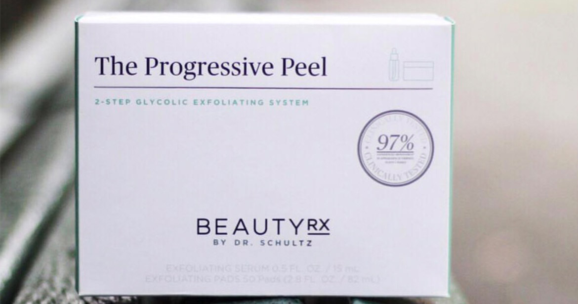 Another example of secondary packaging, folding carton box for Beauty RX.