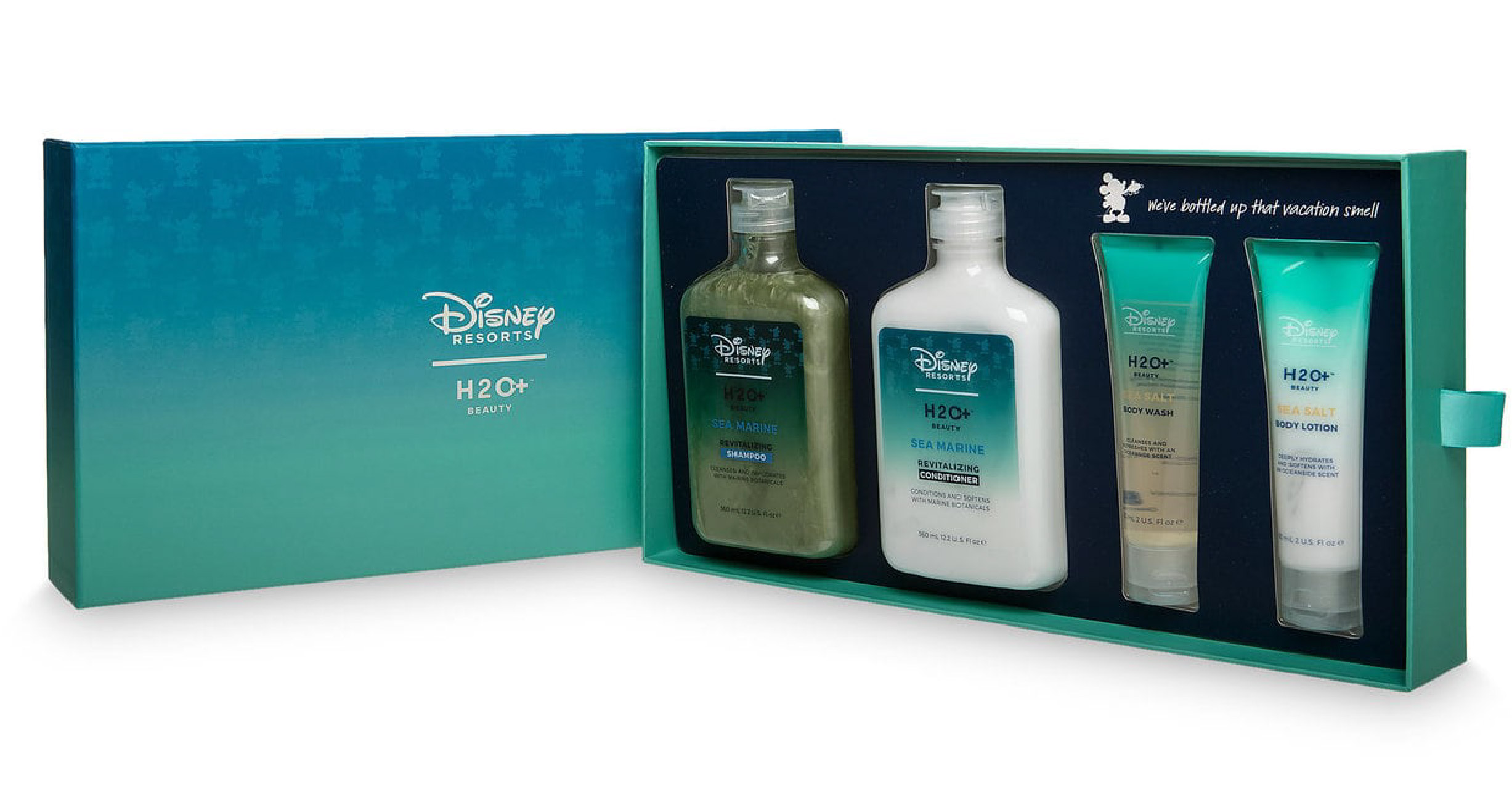 big sky packaging teams up with Disney resorts and h20 for the creation of set boxes