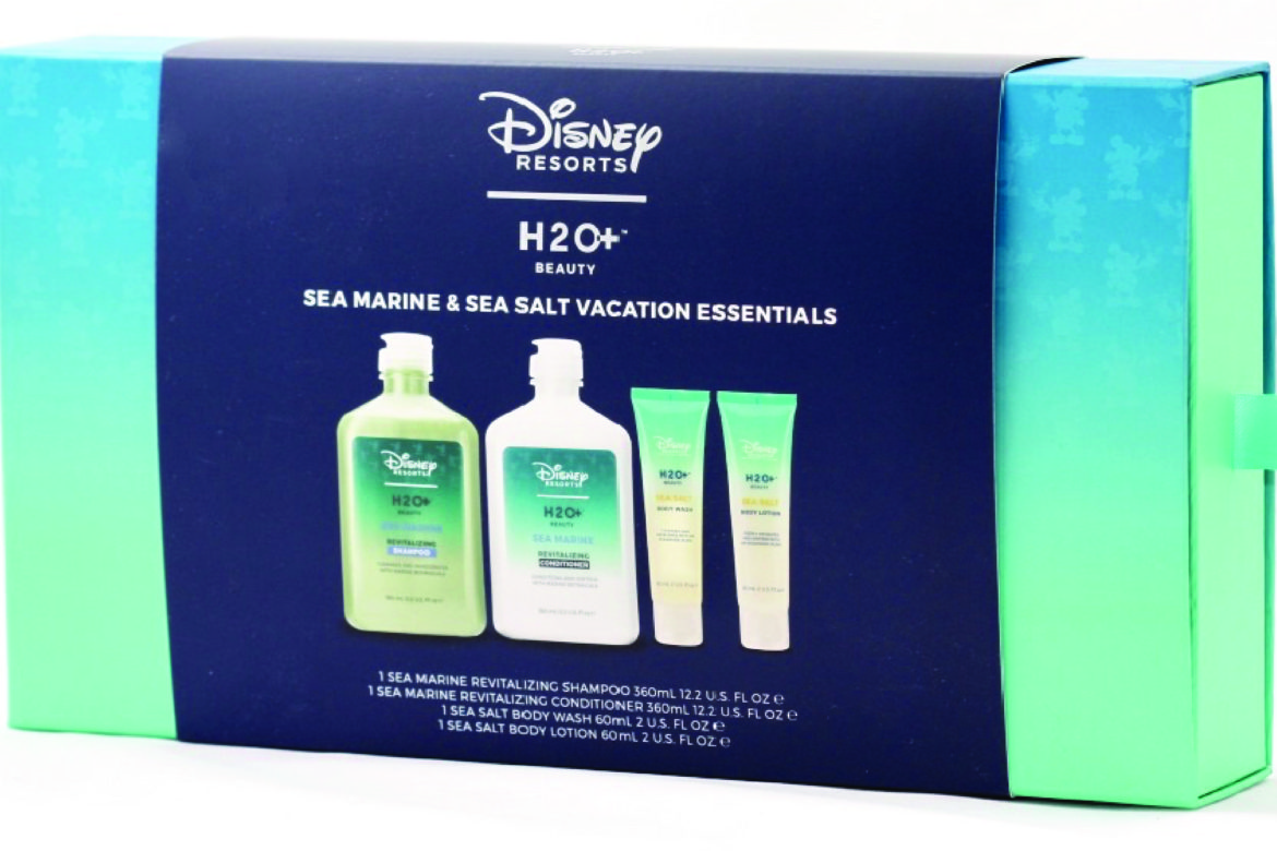 rigid set box packaging for Disney Resorts and H20+