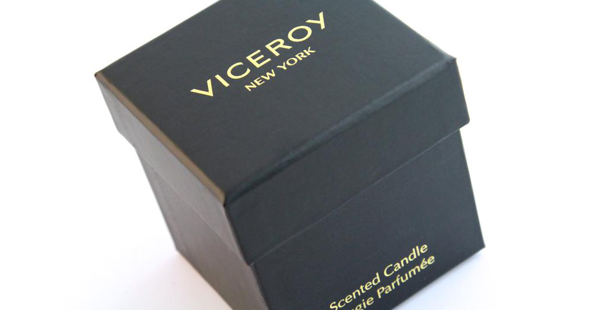 Example of rigid paper box for home essentials, fragrance, wellness, skincare, haircare.