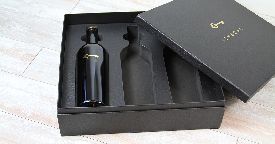 custom ecommerce wine packaging