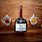 frigate reserve rum glass bottle and wood cap spirit packaging