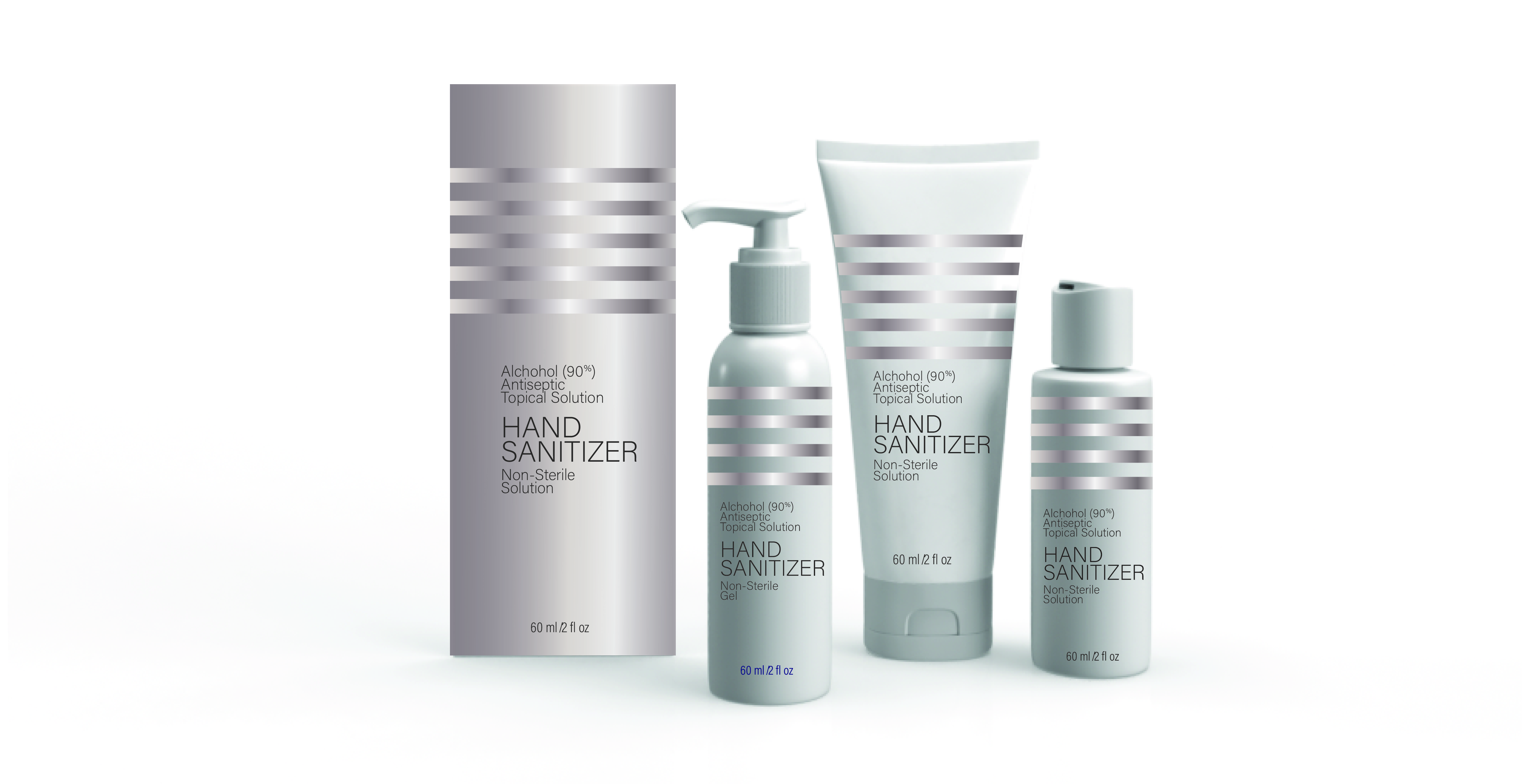 Solutions for hand sanitizer and antibacterial products by BIG SKY PACKAGING.
